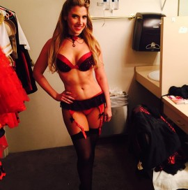 "Maren Wade in ""Pin Up"" at The Stratosphere"