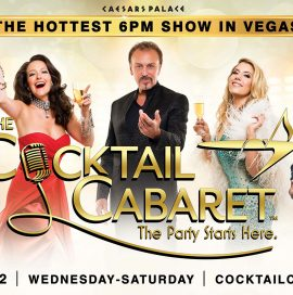 Maren Wade in The Cocktail Cabaret at Caesars Palace